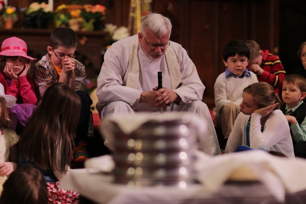 Children's sermon with Jim Harmon & communion